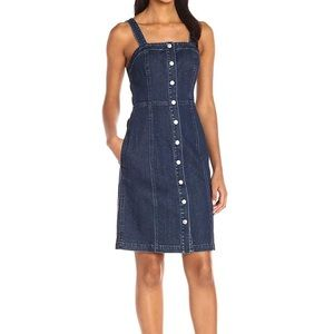 Adriano Goldschmied Sydney Button Down Dress. M